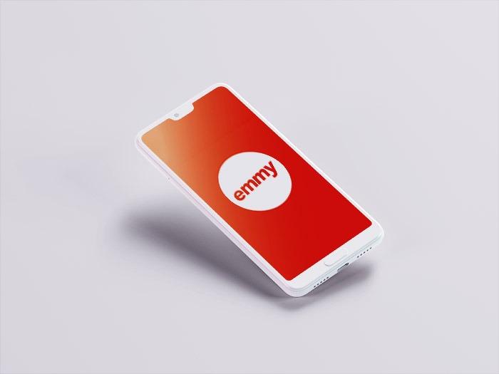 Die App Emmy Auf Einem Smartphone