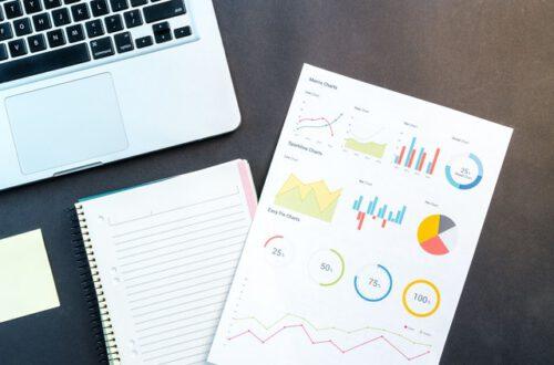 Aktienkennzahlen, Charts