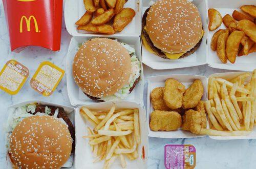 Big Mac Index Erklärt, McDonalds Produkte Aneinandergereiht