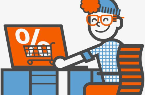DealWise, Cashbackplattform Der ING Illustration