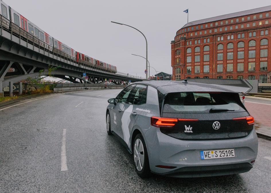 WeShare Ist Ein Elektro-CarSharing-Dienst In Hamburg Und Berlin